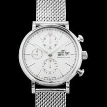 IWC Portofino Chronograph new 2019 Automatic Watch with original box and original papers IW391028