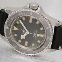 Tudor Submariner Steel 39mm Black No numerals