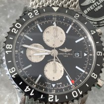 Breitling Chronoliner Steel 46mm Black No numerals United States of America, Florida, Hollywood
