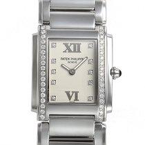 Patek Philippe Damenuhr Twenty~4 30mm Quarz neu Uhr mit Original-Box und Original-Papieren 2021
