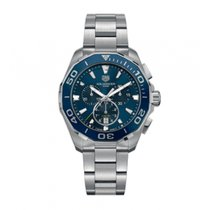 TAG Heuer Aquaracer 300M Steel 43mm Blue No numerals