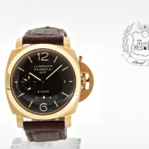 Panerai PAM 00289 Or rose 2011 Luminor 1950 8 Days GMT 44mm occasion