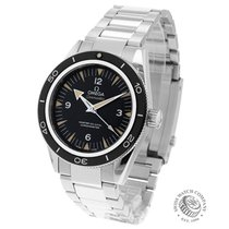 Omega Seamaster 300 pre-owned 41mm Black Steel