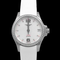 Longines Conquest Steel 36mm Mother of pearl United States of America, California, San Mateo