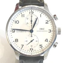 IWC Portuguese Chronograph IW371605 New Steel Automatic