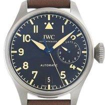 IWC Big Pilot Titanium Black Arabic numerals
