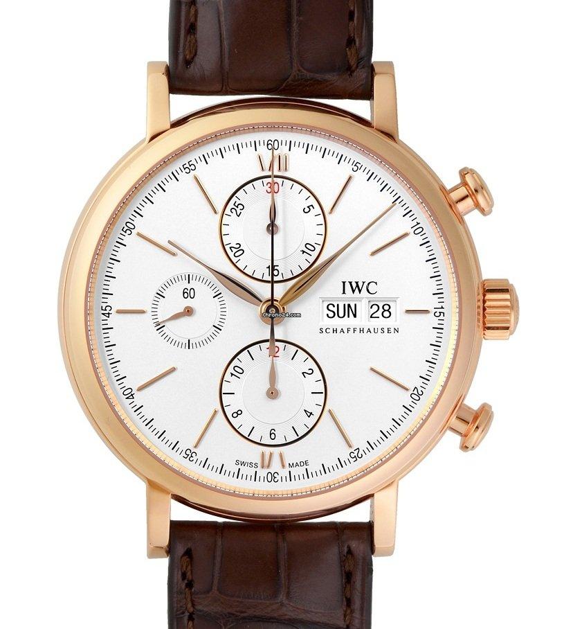 IWC Portofino Chronograph IW391025 2021 новые
