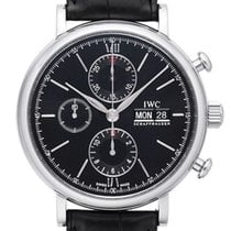IWC Portofino Chronograph IW391029 New Steel 42mm Automatic