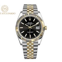 Rolex Datejust Steel 41mm Black