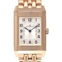 Jaeger-LeCoultre Red gold Manual winding new Reverso Classic Small Duetto