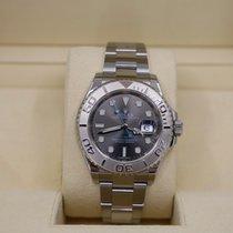 Rolex Yacht-Master 40 Platinum 40mm Grey No numerals United States of America, New York, NEW YORK
