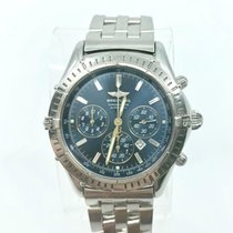 Breitling Shadow Flyback Staal 42mm Blauw