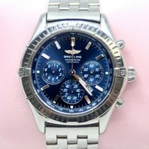 Breitling Shadow Flyback Steel 42mm Blue United States of America, New York, New York
