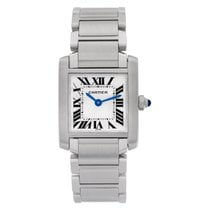 Cartier Tank Française Steel 20mm White Roman numerals United States of America, Florida, Surfside