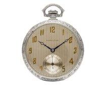 Hamilton Часы подержанные 45mm Aрабские Механические Только часы