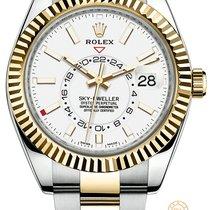 Rolex Sky-Dweller Ouro/Aço