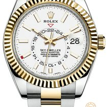 Rolex 326933 Gold/Steel 2019 Sky-Dweller new United States of America, New York, New York