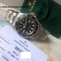 Rolex Submariner (No Date) usados 40mm Negro Acero