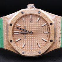 Audemars Piguet Royal Oak Lady Rose gold 33mm Gold No numerals United States of America, New York, New York