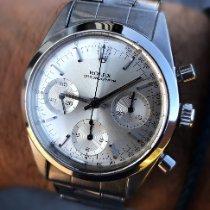 Rolex Chronograph Acél 36mm Ezüst Számjegyek nélkül