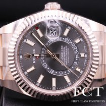 Rolex Sky-Dweller Rose gold 42mm Black Roman numerals United States of America, New York, New York