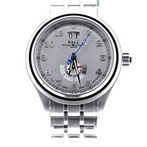Ball Trainmaster Cleveland Express Steel 43mm Silver Arabic numerals