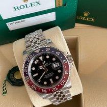 Rolex GMT-Master II Acier 40mm Noir Sans chiffres France, Bastia