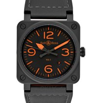 Bell & Ross Ceramic 42mm Automatic BR0392-KAO-CE/SCA new
