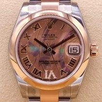 Rolex Lady-Datejust 178241 Неношеные Золото/Cталь 31mm Автоподзавод