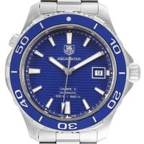 TAG Heuer Aquaracer 500M Steel 41mm Blue United States of America, Georgia, Atlanta
