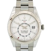Rolex Sky-Dweller Steel 42mm Silver United States of America, New York, New York