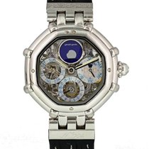 Gérald Genta Platinum 35mm Automatic 3359.4 pre-owned United States of America, New York, New York
