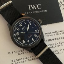 IWC Pilot Chronograph Top Gun Keramiek 41mm Zwart