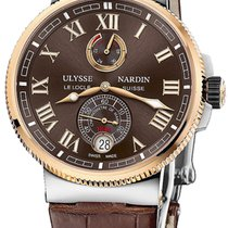 Ulysse Nardin Marine Chronometer Manufacture Steel 43mm Brown Roman numerals United States of America, New Jersey, Princeton