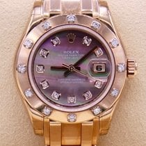 Rolex 80315 Rose gold 2014 Lady-Datejust Pearlmaster 29mm new