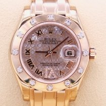 Rolex Lady-Datejust Pearlmaster new 2018 Automatic Watch with original box and original papers 80315