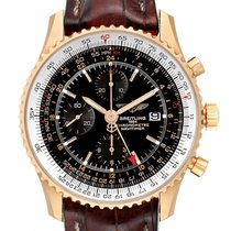 Breitling Navitimer World Rose gold 46mm Black United States of America, Georgia, Atlanta