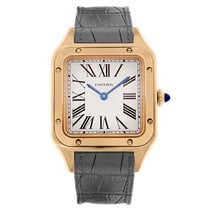 Cartier Santos Dumont WGSA0021 New Rose gold 43.5mm Quartz