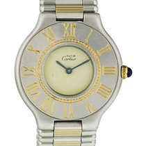 Cartier 21 Must de Cartier Steel 28mm White United States of America, New York, New York
