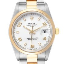 Rolex Oyster Perpetual Date Gold/Steel 34mm White Arabic numerals United States of America, Georgia, Atlanta