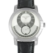 Harry Winston Aur alb 42mm Atomat MIDAMP42WW001 nou