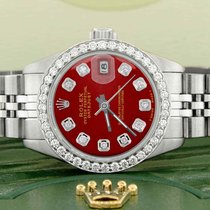 Rolex Lady-Datejust Steel 26mm Red United States of America, New York, New York