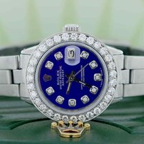 Rolex Lady-Datejust Steel 26mm Blue United States of America, New York, New York