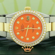 Rolex Datejust Steel 36mm Orange United States of America, New York, New York