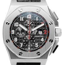 Audemars Piguet Royal Oak Offshore Chronograph Ατσάλι 42mm Μαύρο
