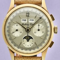 Mathey-Tissot Yellow gold 38mm Manual winding pre-owned United States of America, New York, New York