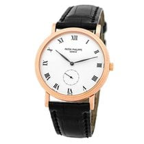 Patek Philippe Manual winding White Roman numerals 34mm pre-owned Calatrava