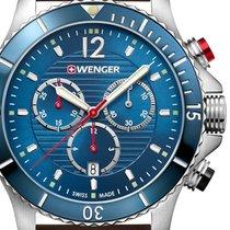 Wenger Sea Force Steel 43mm Blue