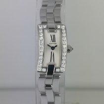 Cartier Ballerine White gold 23mm Silver Roman numerals