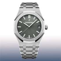 Audemars Piguet Royal Oak Selfwinding Steel 41mm Grey No numerals United States of America, New York, New York